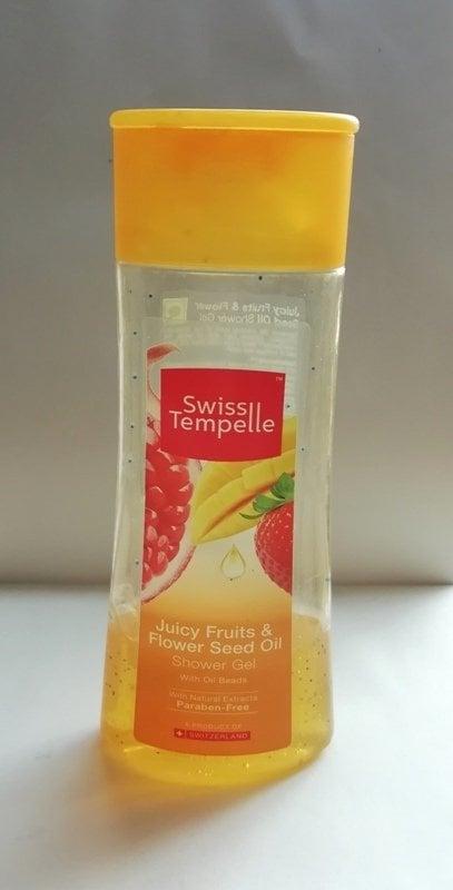 Swiss Tempelle Juicy Fruits And Flower Seed Oil Shower Gel