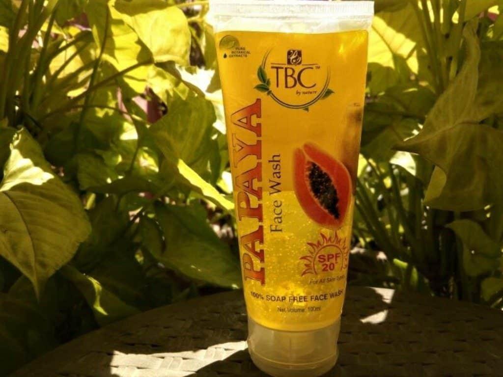 TBC By Nature Papaya Face Wash Review