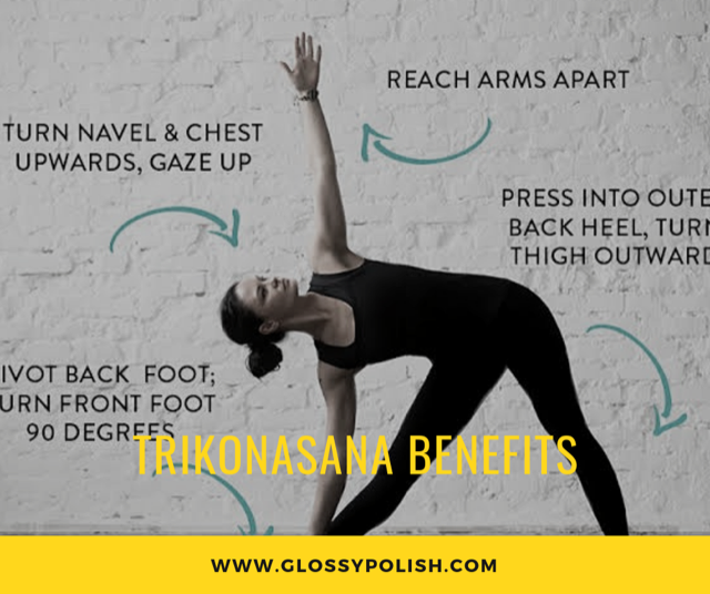 Trikonasana Benefits