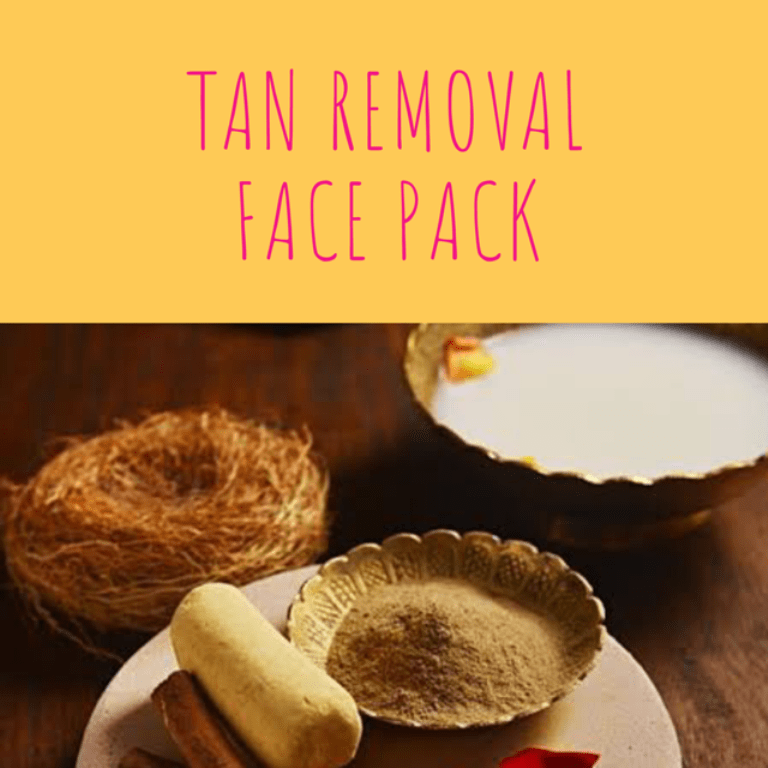Tan Removal Face Pack