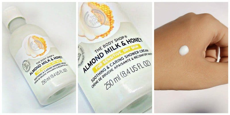 The Body Shop Almond Milk and Honey Soothing and Caring Shower Cream