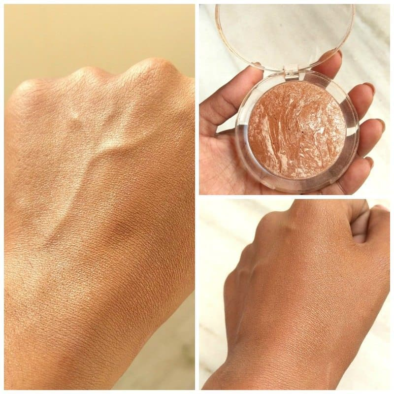 The Body Shop Baked to last Bronzer Golden Bronze 3