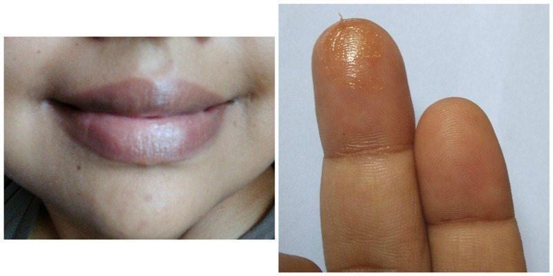 The Body Shop Born Lippy Satsuma Shimmer  2
