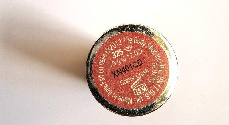 The Body Shop Color Crush Lipstick 325 2
