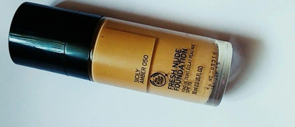 The Body Shop Fresh Nude Foundation Review 3