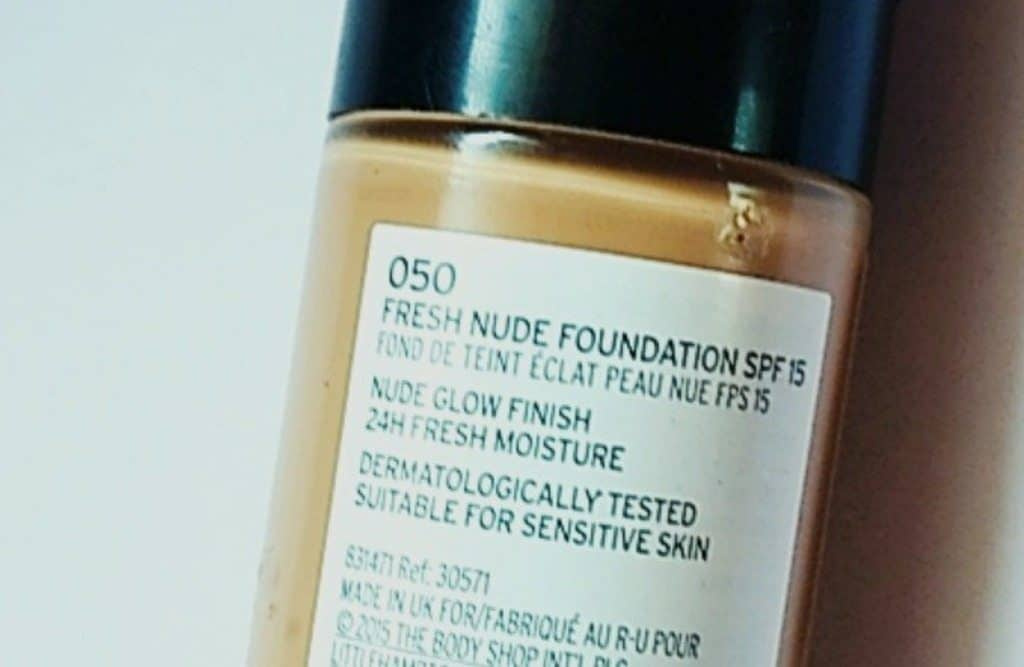 The Body Shop Fresh Nude Foundation Review 4