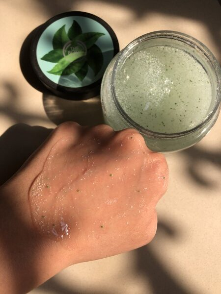 The Body Shop Fuji Green Tea Body Scrub 2