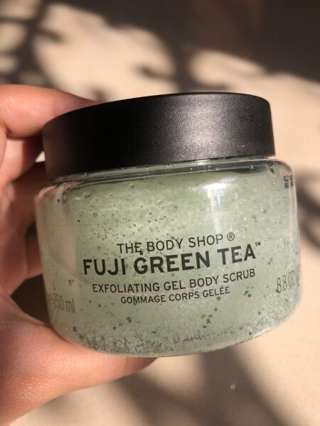 The Body Shop Fuji Green Tea Body Scrub 3