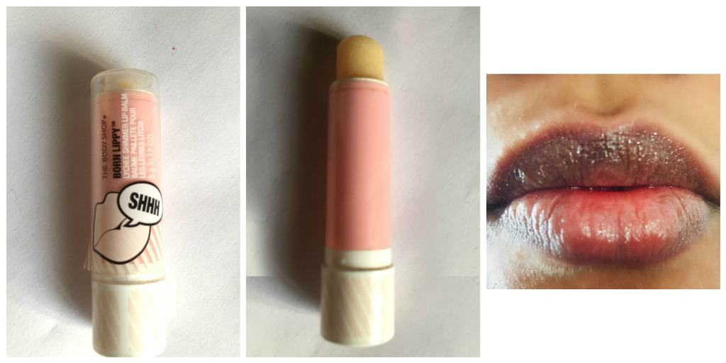 The Body Shop Lip Balm - Born Lippy Lychee Shimmer