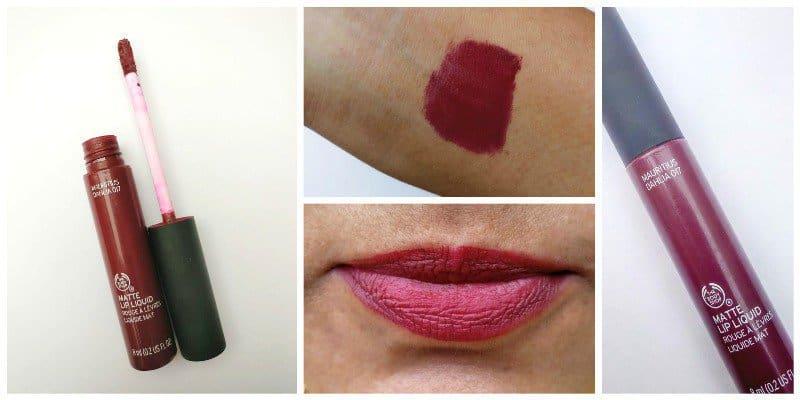 The Body Shop Mauritius Dahlia Matte Lip Liquid Review