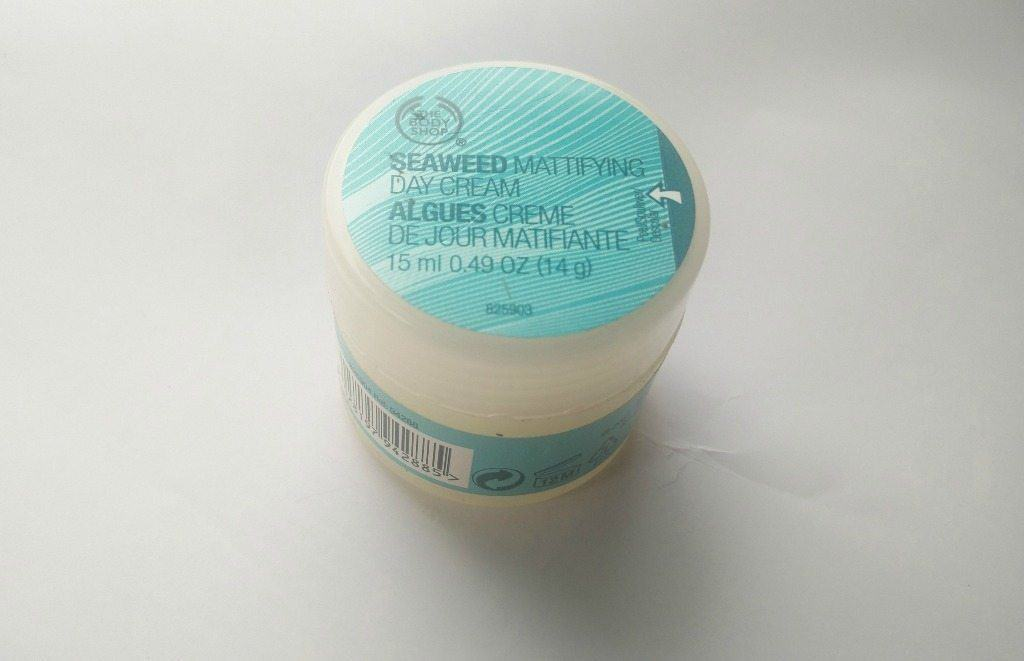 The Body Shop Seaweed Mattifying Day Cream Review 2