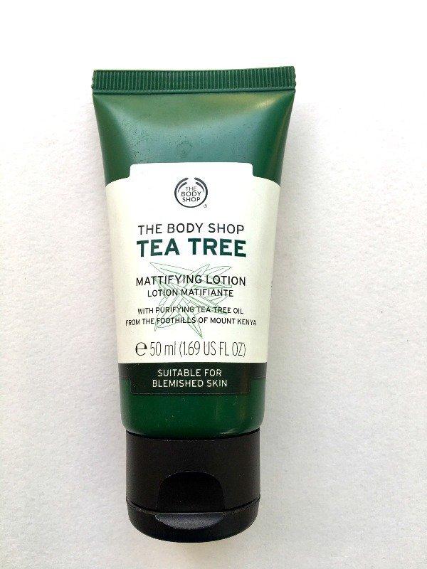 The Body Shop Tea Tree Mattifying Lotion Review