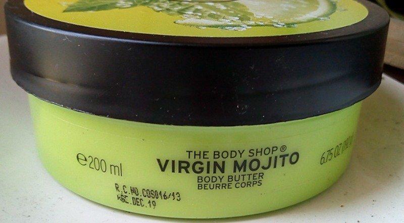 The Body Shop Virgin Mojito Body Butter 4