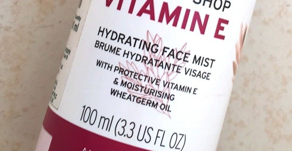body shop face mist vitamin c review