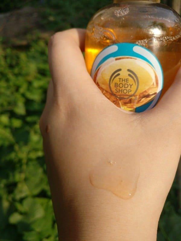 The Body Shop Wild Argan Oil Shower Gel Review 4