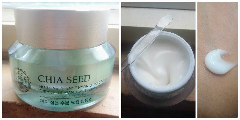 The Face Shop Chia Seed No Shine Intense Hydrating Cream