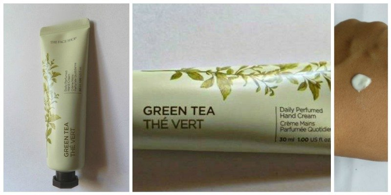 The Face Shop Green Tea Daily Perfumed Hand Cream