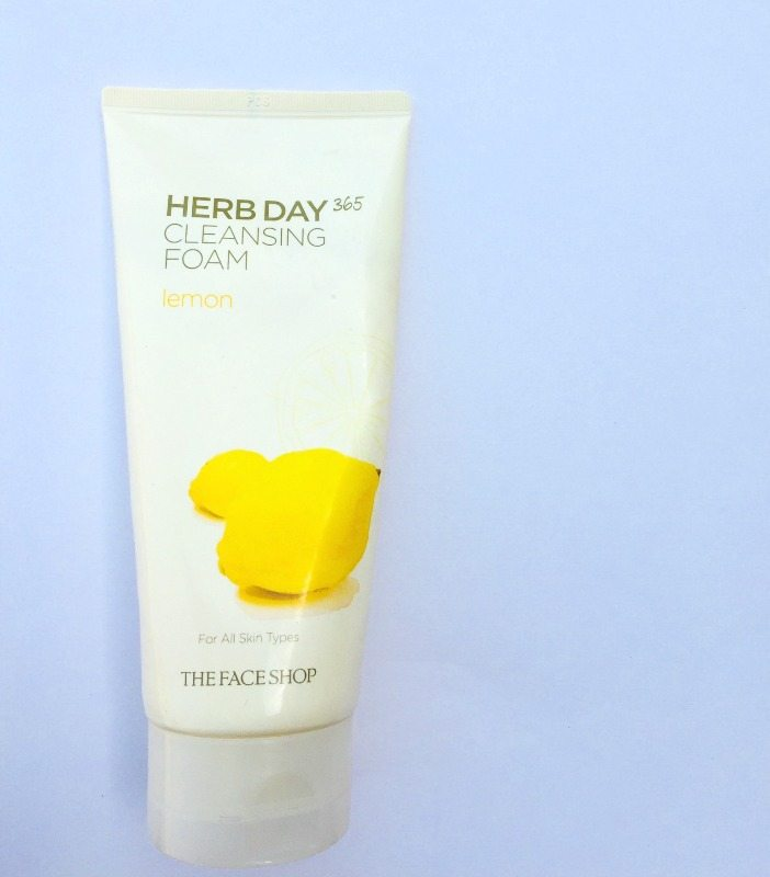 The Face Shop Herb Day 365 Cleansing Foam The Face Shop Herb Day 365 Cleansing Foam