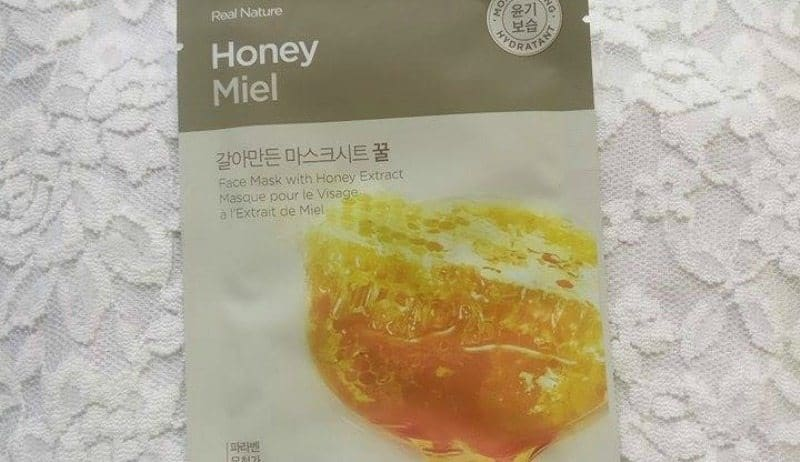 The Face Shop Honey Face Mask 3