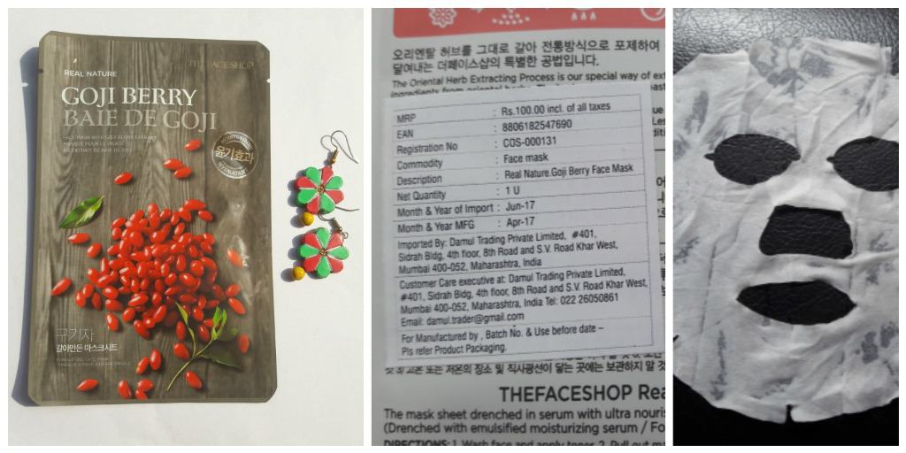 The Face Shop Mask Goji Berry