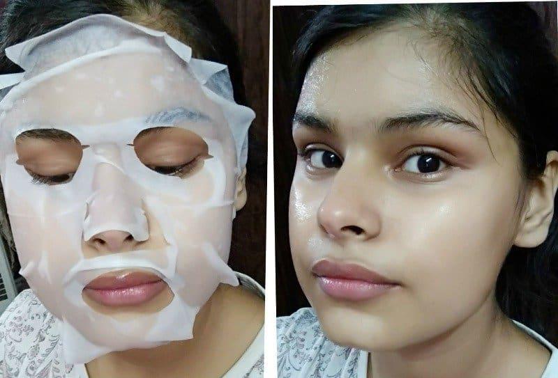 The Face Shop Mask  Olive  3