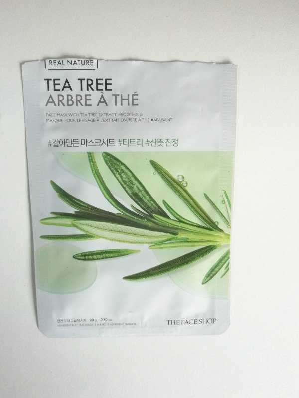 The Face Shop Mask Tea Tree  1
