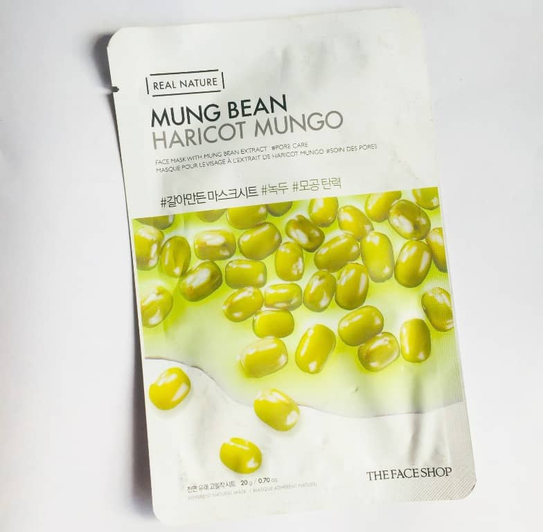 The Face Shop Mung Bean Mask