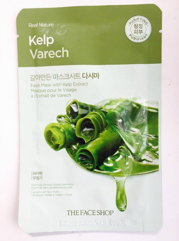 The Face Shop Sheet Mask Kelp