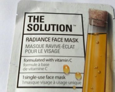 The Face Shop The Solution Nourishing Face Mask 3