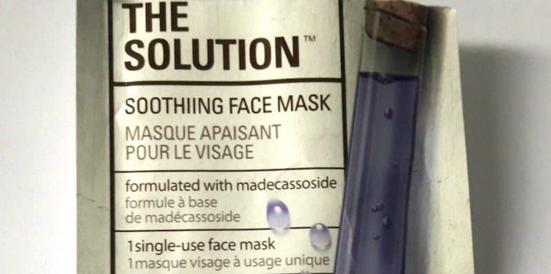 The Face Shop The Solution Soothing Face Mask  2