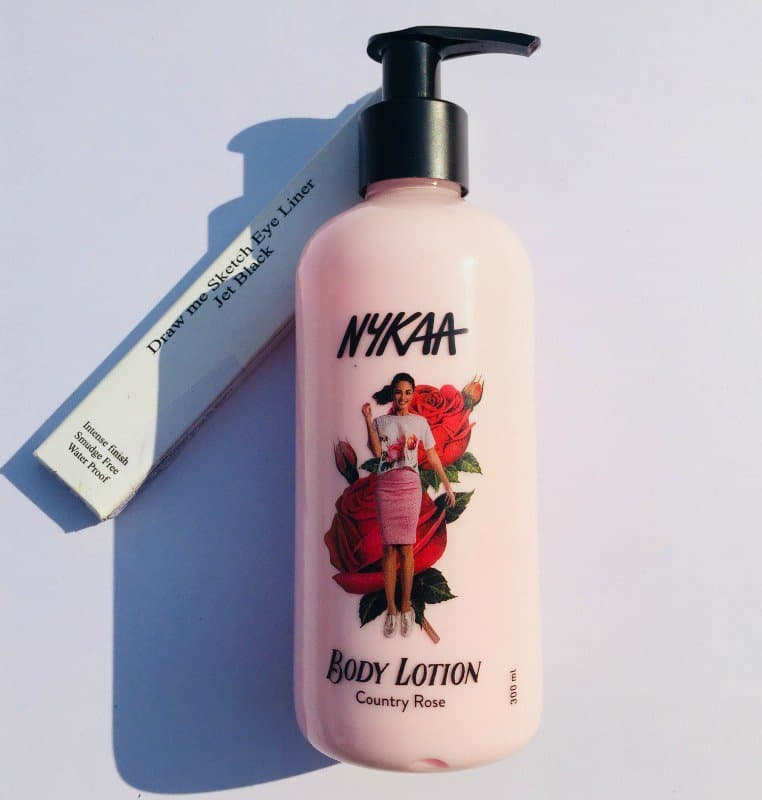 The Nykaa Body Lotion Country Rose