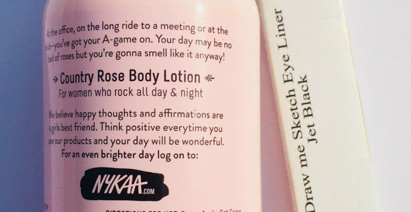 The Nykaa Body Lotion Country Rose 2