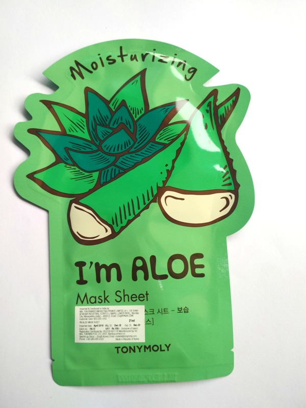 Tony Moly I'm Aloe Mask Sheet