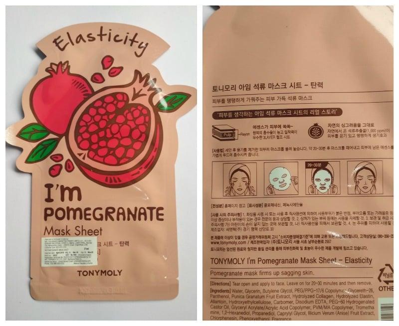 Tonymoly I'm Pomegranate Mask Sheet