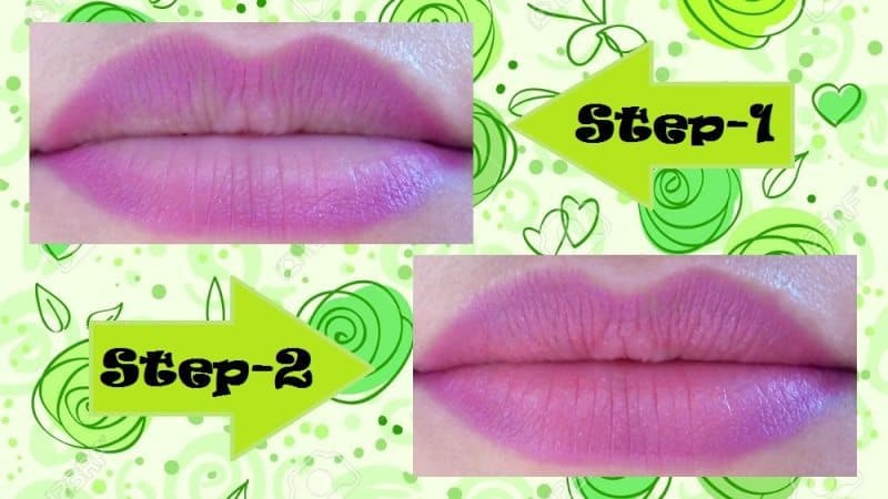 Two Toned Lips Step by Step Tutorial 2