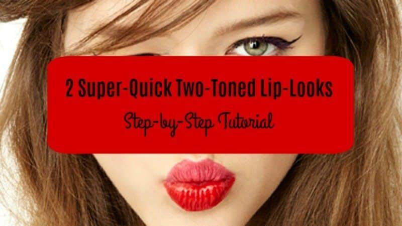 Two Toned Lips Step by Step Tutorial 4