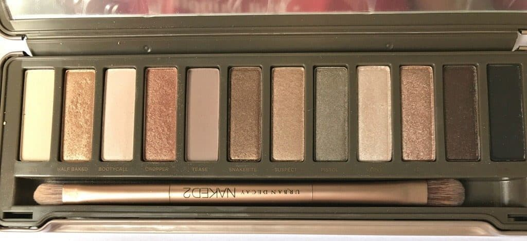Urban Decay Naked 2 Eyeshadow Palette Review 7