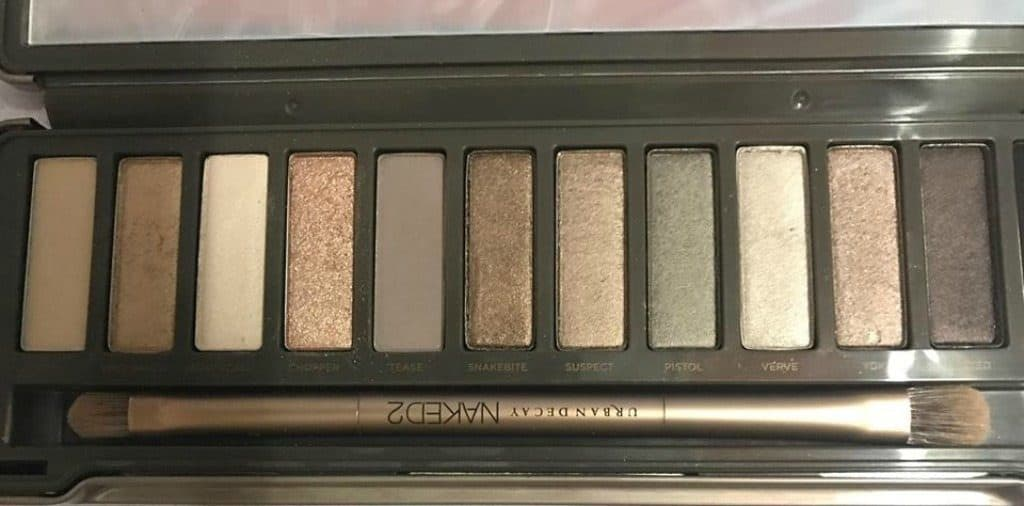 Urban Decay Naked 2 Eyeshadow Palette Review 3