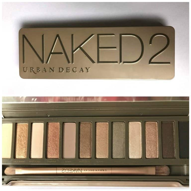 Urban Decay Naked 2 Eyeshadow Palette Review 2