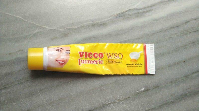 VICCO Turmeric WSO Skin Cream Review 3