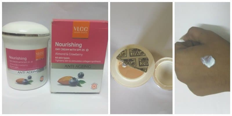 VLCC Anti-Ageing Nourishing Day Cream With SPF 25 Review
