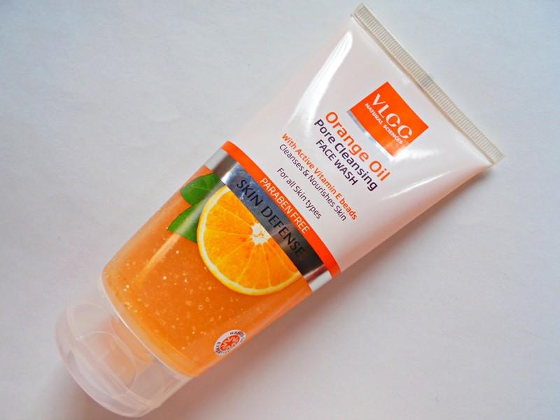 VLCC Face Wash for Oily Skin Orange Oil Pore Cleansing