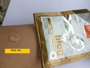 VLCC Gold Facial Kit Review 7