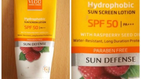 VLCC Hydrophobic Sun Block Lotion - Spf 50 Pa +++ With Raspberry Seed Oil 6