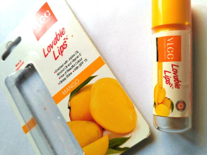 VLCC Lovable Lips Mango Lip Balm  1