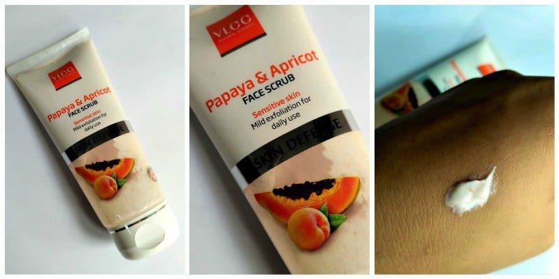 VLCC Papaya And Apricot Scrub