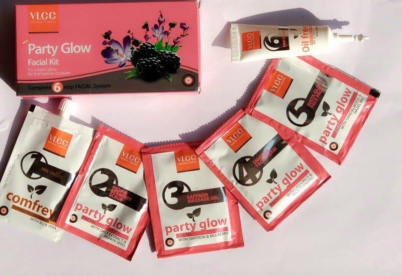 VLCC Party Glow Facial Kit 1