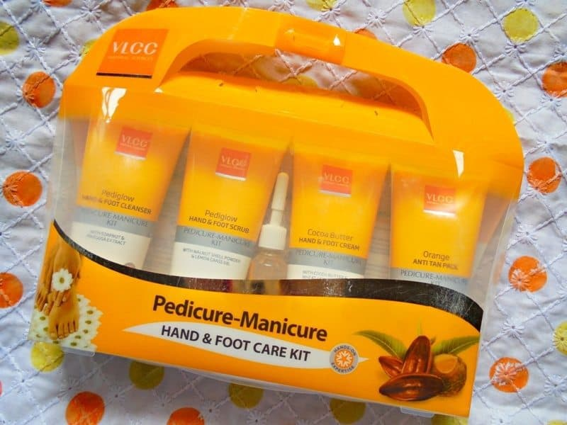 VLCC Pedicure Manicure Kit Review pictures
