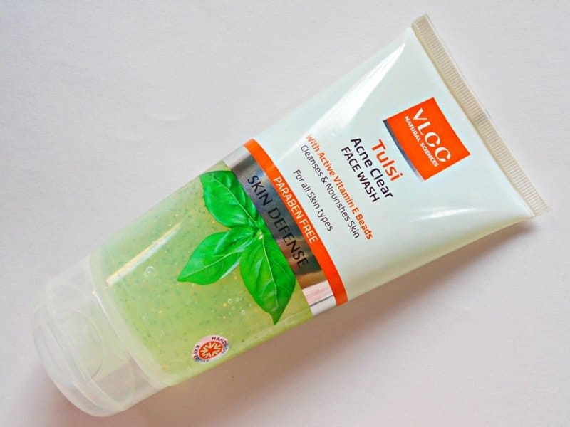 VLCC Tulsi Acne Clear Face Wash Review 2