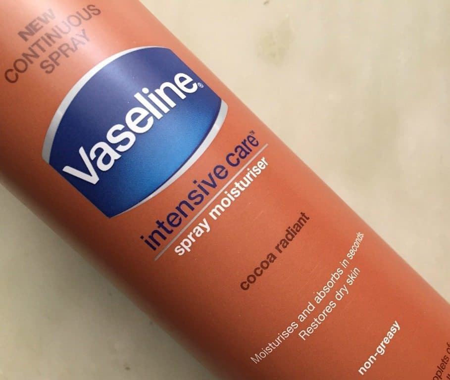 Vaseline Intensive Care Cocoa Radiant Spray Moisturizer Review 2